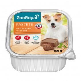 ZooRoyal Pastete reich an Huhn und Leber