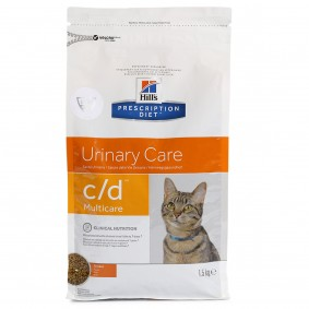 Hill's Prescription Diet c/d Multicare Urinary Care Katzenfutter mit Huhn