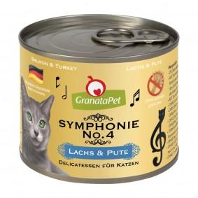 GranataPet Symphonie No. 4 losos a krůta, 6 x 200 g