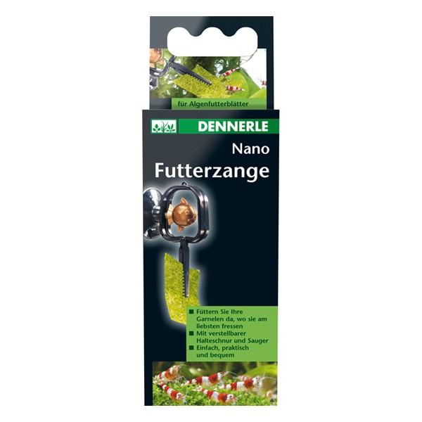 Dennerle Nano Futterzange für Algenfutterblätter