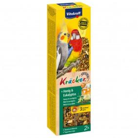 Vitakraft Kräcker Honig-Eukalyptus für Großsittiche