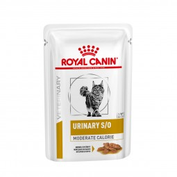 Royal Canin Vet Diet Urinary S/O Moderate Calorie Katze - Häppchen in Soße