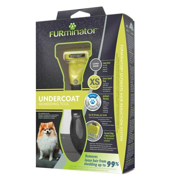 FURminator Hund Langhaar Bürste für Unterwolle