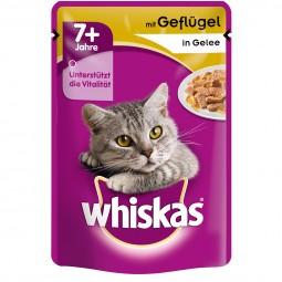 Whiskas Senior 7+ mit Geflügel in Gelee 24x100g