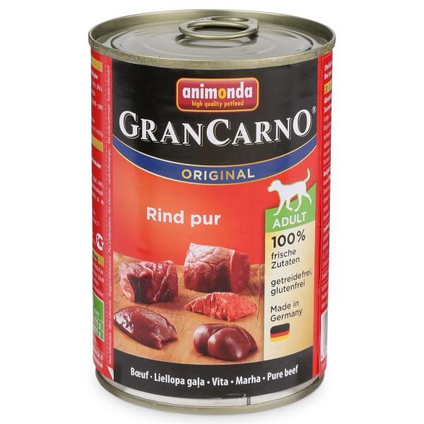 Animonda Hundefutter GranCarno Adult Rind Pur