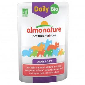 Almo Nature Daily Menu BIO Cat mit Rind und Huhn