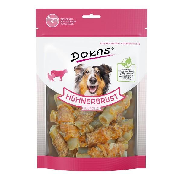 Dokas Hundesnack Hühnerbrust Kaurolle 250g