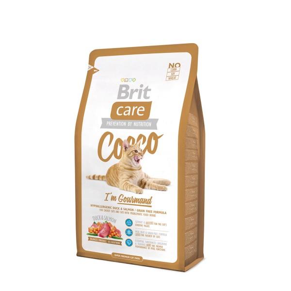 Brit Care Cat Cocco I´m Gourmand 2kg