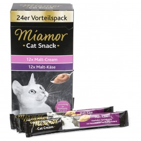 Miamor Cat Snack Cream Vorratspackung