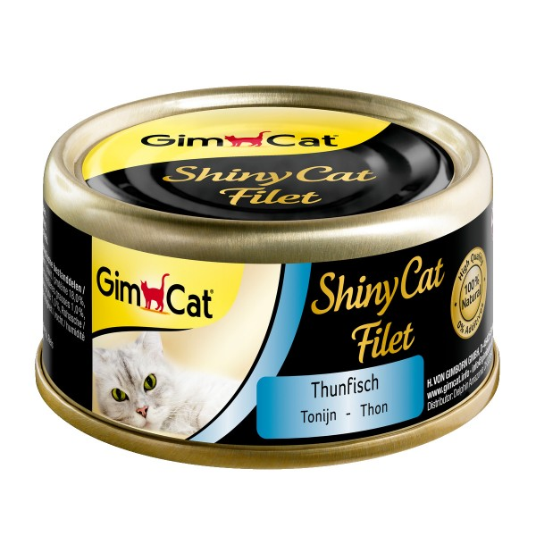 GimCat ShinyCat Filet Thunfisch 6x70g