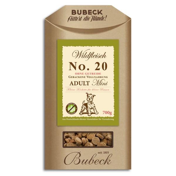 Bubeck No.20 Mini Wildfleisch 700g