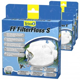Tetra FF FilterFloss Feinfiltervlies für EX 600 Plus und 800 4er Pack