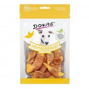 Dokas Hundesnack Hühnerbrust mit Mango
