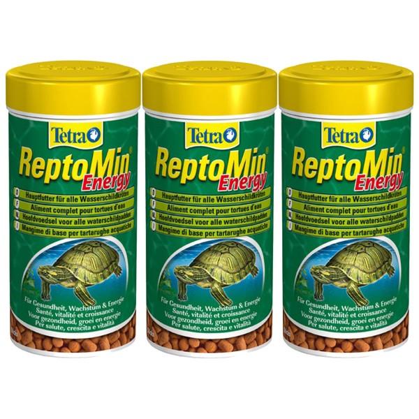 Tetra Wasserschildkrötenfutter ReptoMin Energy 3x250ml
