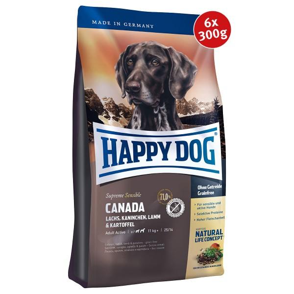 Happy Dog Supreme Canada 6x300g Spenden-Aktion