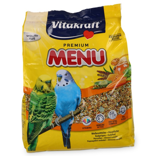 Vitakraft Wellensittich Premium Menü 3kg