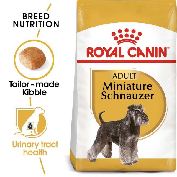ROYAL CANIN Miniature Schnauzer Adult Hundefutter trocken für Zwergschnauzer