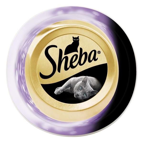 Sheba Feine Filets Thunfischfilets und Garnelen
