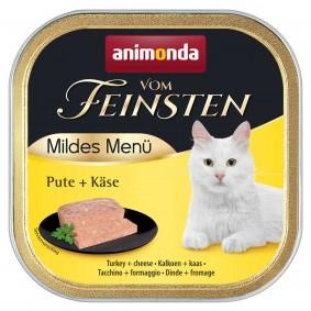 Animonda Vom Feinsten Adult Mildes Menü Pute+Käse