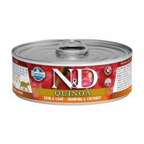 N&D Cat Quinoa Hering & Kokusnuss