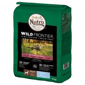 Nutro Adult Wild Frontier Reich an Truthahn & Huhn für große Hunde