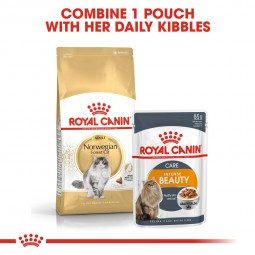 ROYAL CANIN Norwegian Forest Cat Adult Trockenfutter für Norwegische Waldkatzen