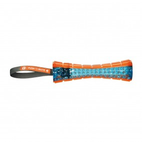 Trixie Push to mute Stick am Gurt 20cm/35cm orange/blau