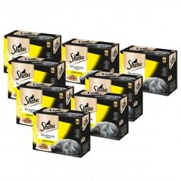 Sheba Katzenfutter Delikatesse in Gelee Geflügel Variation Multipack