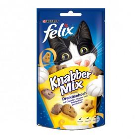 Felix Knabber Mix Katzensnack 60g