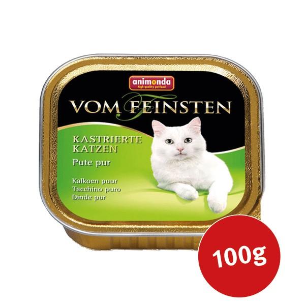 Animonda Katzenfutter Vom Feinsten für kastrierte Katzen Pute pur 100g