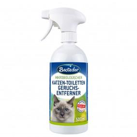 Bactador Katzentoiletten - Geruchsentferner Spray
