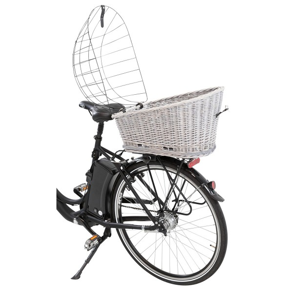 Trixie Fahrradkorb mit Gitter für Gepäckträger