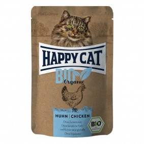 Happy Cat Bio Pouch Huhn