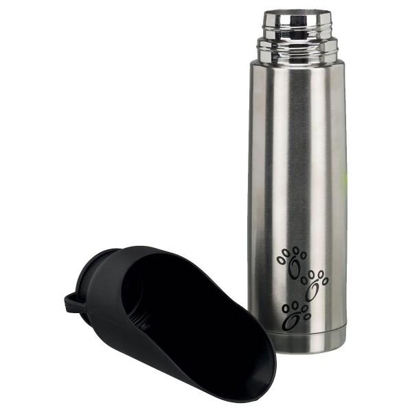 Trixie Thermoflasche mit Trinknapf