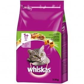 Whiskas Adult 1+ mit Lamm