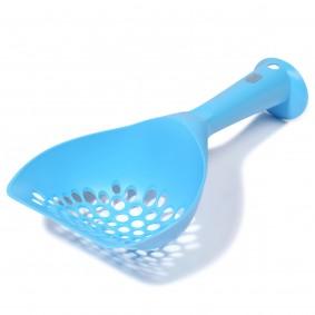 Catit lopatka k čištění toalety pro kočky, modrá