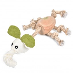 Earthy Pawz Holz Hundespielzeug Elefant 17×29cm