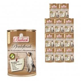 Bubeck Pferdefleisch mit Kartoffeln & Magerjoghurt 12x410g