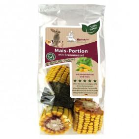Hansepet Kleintierfutter Mais-Portion mit Brennnessel 300g