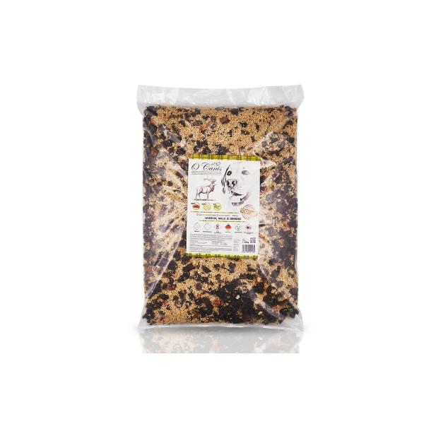 O´Canis sensitives Trockenbarf-Menü Nudeln, Wild & Gemüse