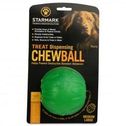 Starmark Hundespielzeug Treat Dispensing Chew Ball