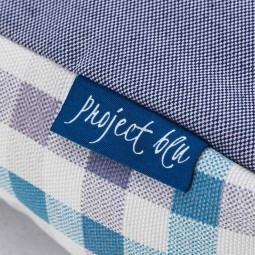 Project Blu Eco Hundekissen Bengal blau