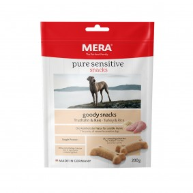 MERA pure sensitive goody snacks Truthahn&Reis
