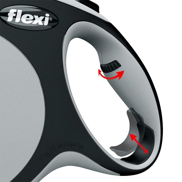 flexi New Comfort Gurtleine grau
