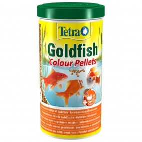 Tetra Pond Goldfish Colour Pellets 1L