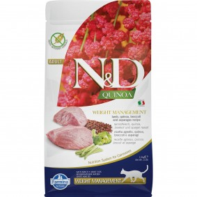 N&D Cat Quinoa Weight Management Lamb