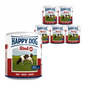 Happy Dog Rind Pur 6x800g