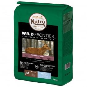 Nutro Adult Wild Frontier Sjelením ahovězím masem, pro velké psy
