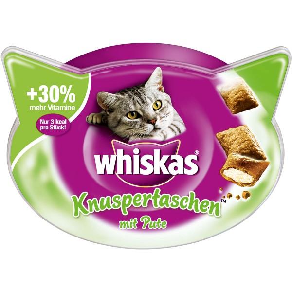 Whiskas Knuspertaschen Pute 60g