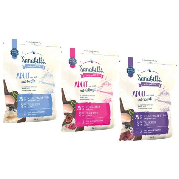 Sanabelle Adult Mixpaket 3x400g